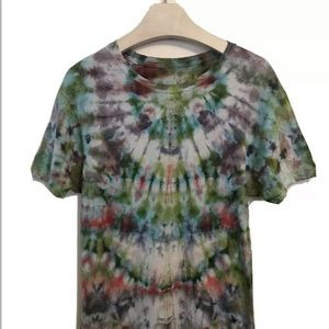 Tie Dye T-Shirt Small Psychedelic New